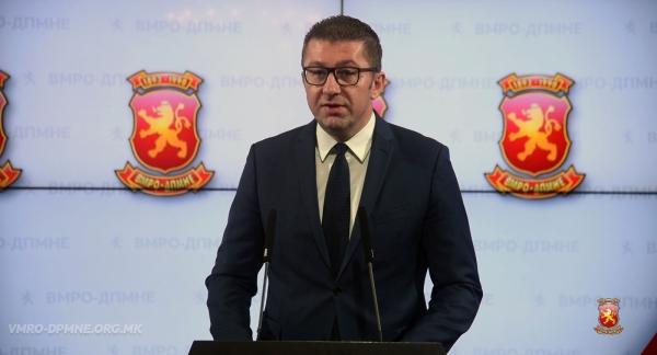 МИЦКОСКИ ДО ЗАЕВ: Ајде на избори, избори не за фотелји, туку за Македонија!