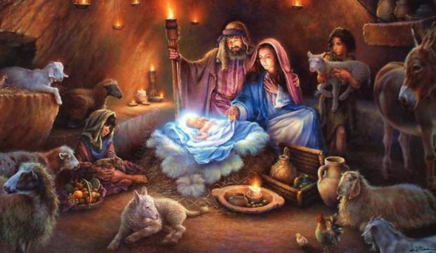 ДЕНЕСКА ПРАВОСЛАВНИТЕ ГО СЛАВАТ РОЖДЕСТВОТО ХРИСТОВО: Честит Божик и од Бога благословено Новото лето Господово