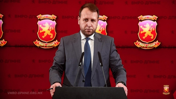 Јанушев: Кривични за Џафери и директорот на Службен весник и иницијатива пред Уставен