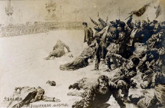 """На денешен ден: Во 1905 година се случил колеж во Санкт Петрбург, наречен """"Крвава недела"""""""