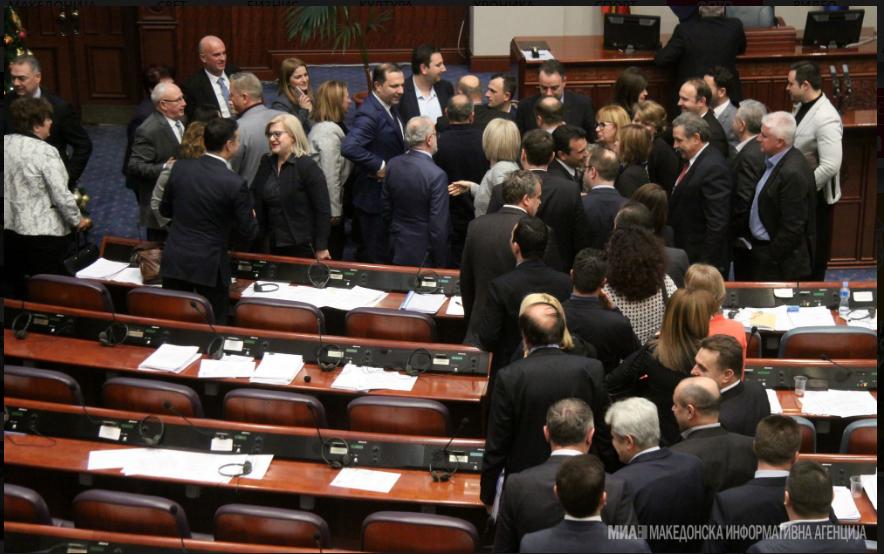 ВМРО-ДПМНЕ: Заев и неговите 81 очајник ја донесоа најсрамната и најцрната одлука за Македонија