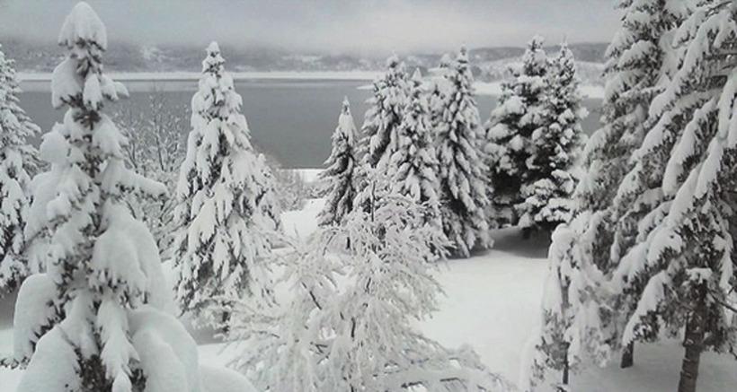 МАКЕДОНИЈА СЕВЕРНА И ЗАВЕАНА:  Во Скопје 15 см снег, во Демир Капија 13, во Битола 5 и забрана за камиони на повеќе патишта