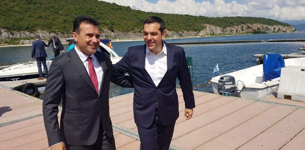 Пофалби од Шојбле за Ципрас: Покажа лидерство за името на С. Македонија