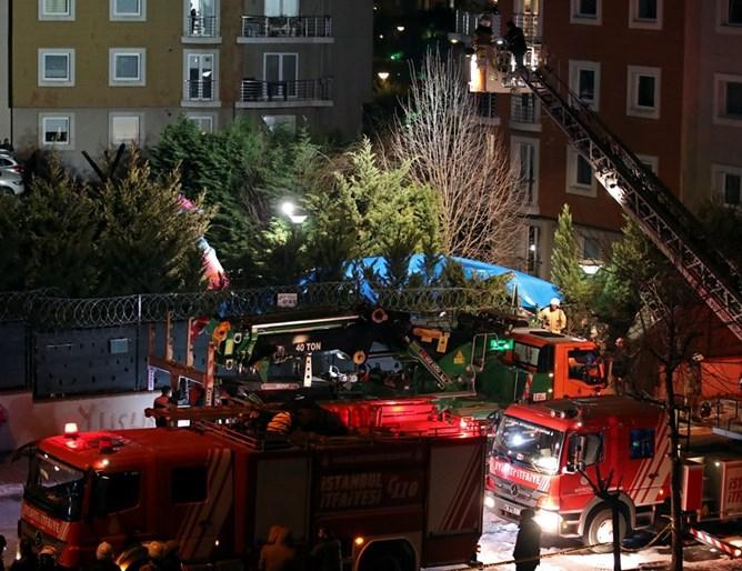 Четворица војници загинаа во урнат хеликоптер во Истанбул