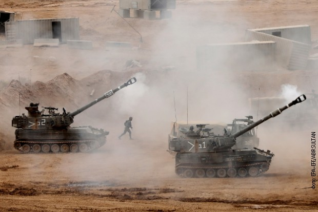 Сирија: Израелската артилерија ја гранатира пограничната провинција Кунеитра