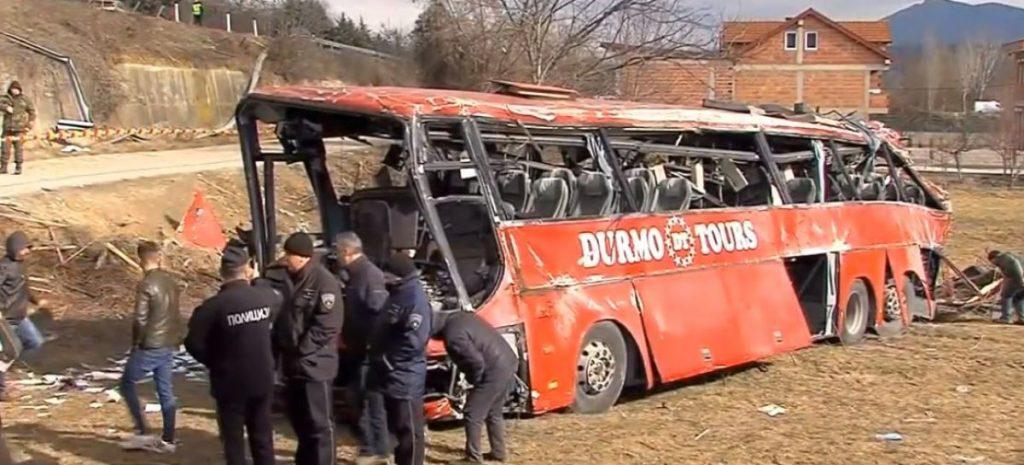 """ОЈО Скопје: Шест обвиненија за автобуската несреќа на """"Дурмо турс"""" во која загинаа 16 лица"""
