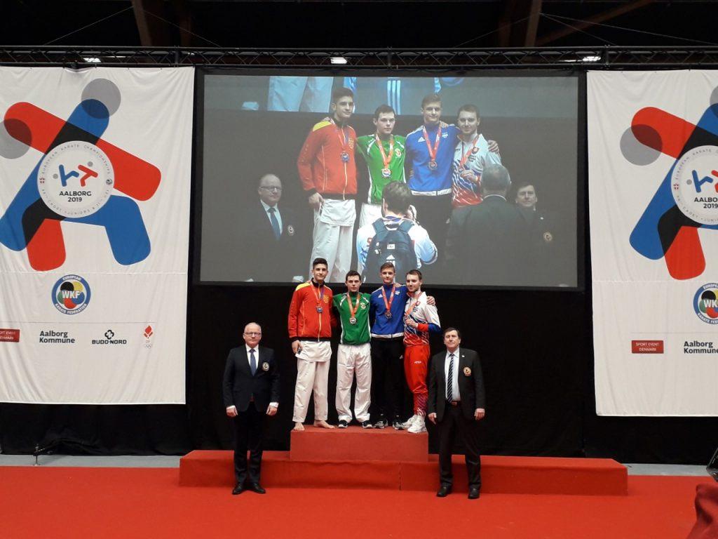 ЕП во Данска: Два златни медалa за македонските каратисти
