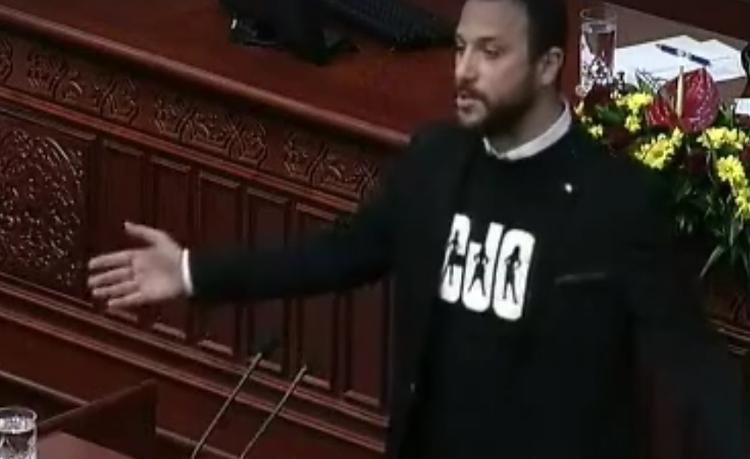 """СОБРАНИЕ: Пратеникот од СДСМ, Павле Богоевски по аферата за """"пола доза кокаин или масло од марихуана"""" ја доставил оставката"""