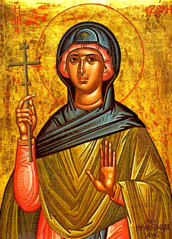 Денеска е Преподобна Ксенија Римјанка