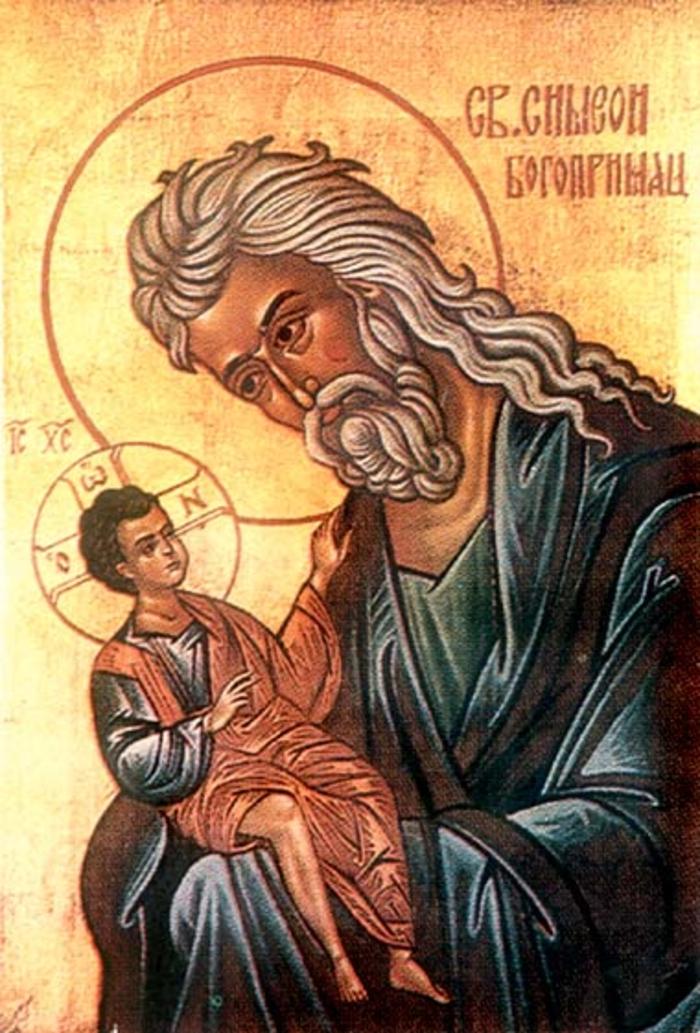 Денеска е Св. Симеон Богопримец и св. пророчица Ана