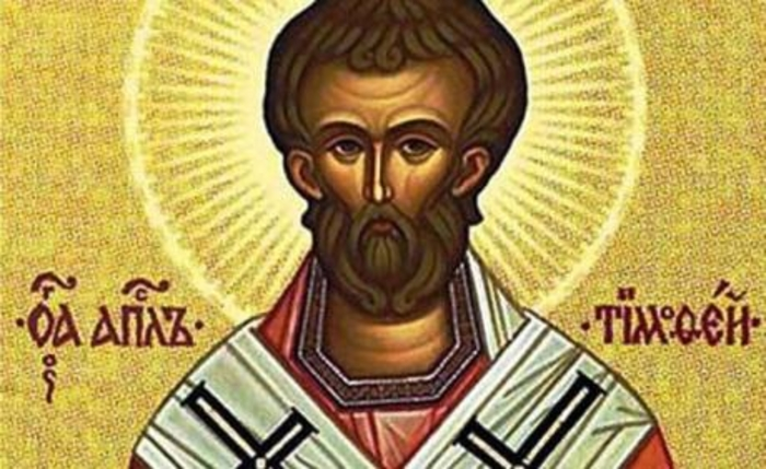 Денеска е Св. апостол Тимотеј