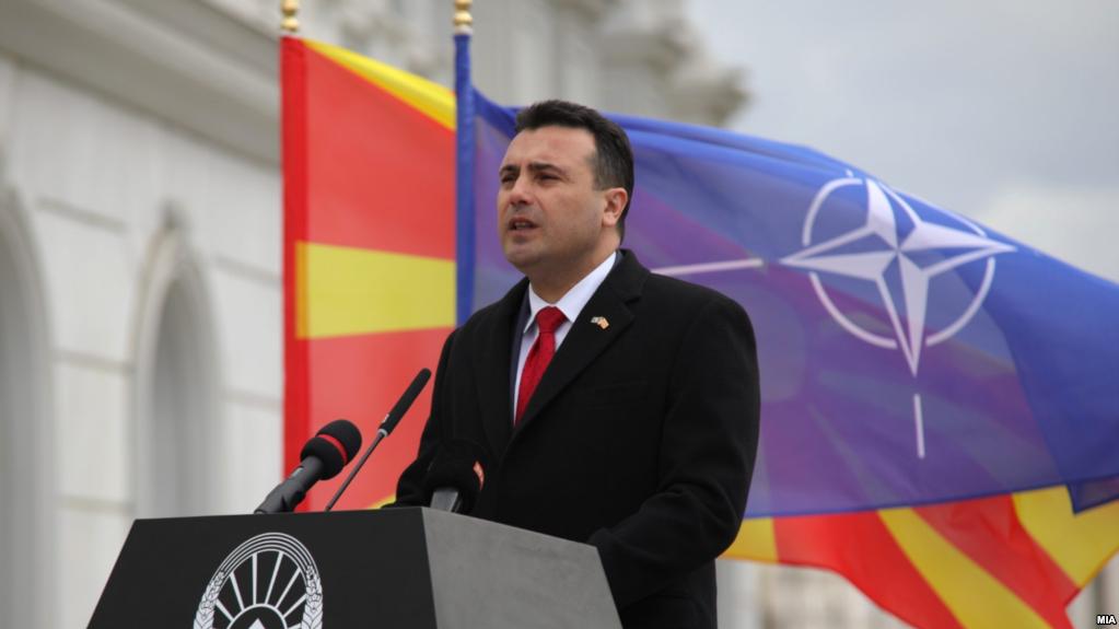 ЗАЕВ ПО ДИГАЊЕТО НА ЗНАМЕТО НА НАТО: Сега со поткуп, лични интереси и привилегии нема да се води бизнисот во Македонија
