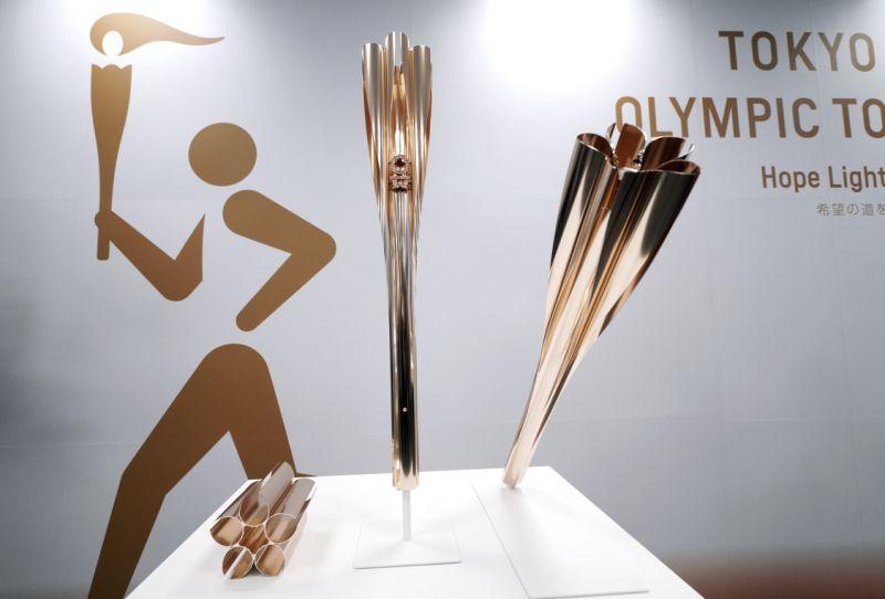 Претставен олимпискиот факел за ОИ во Токио 2020 година