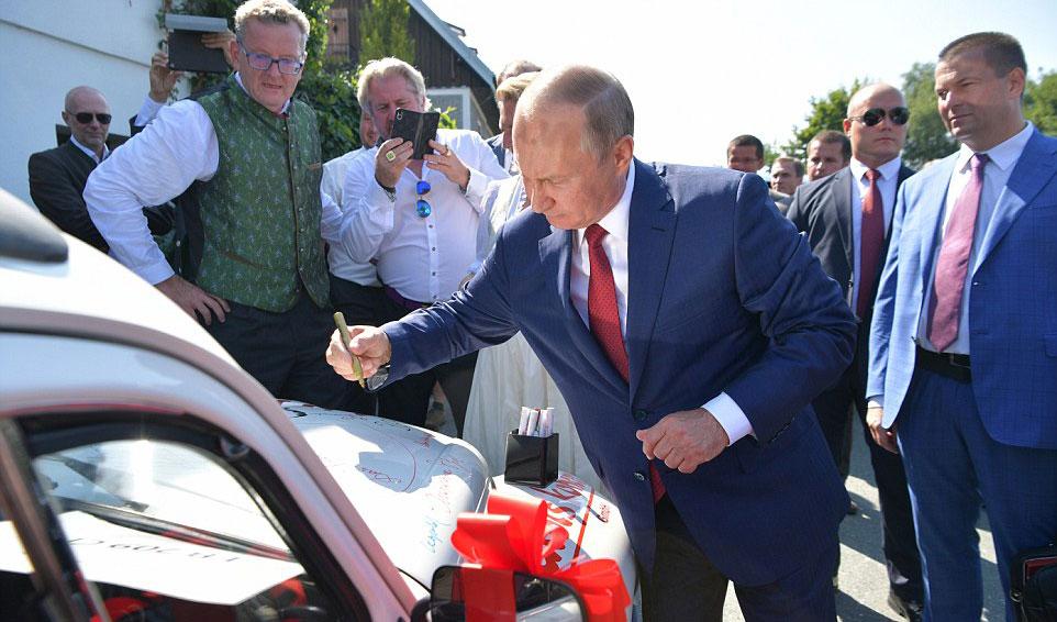 Путин се согласи, на 22 април референдум за уставните измени