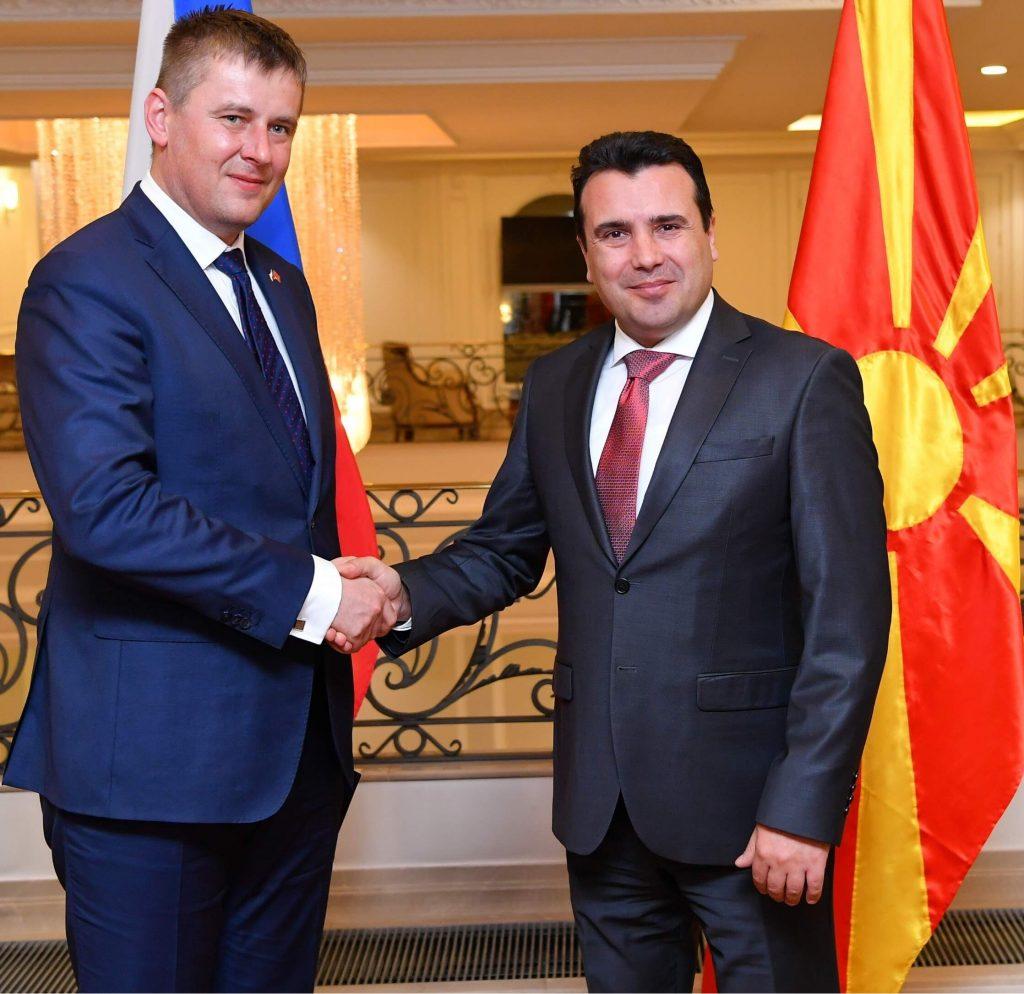 Средба Заев – Петричек: Во јуни се очекува почеток на преговори со ЕУ