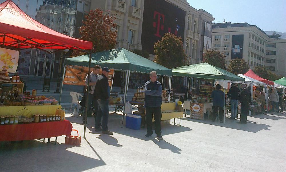 Пчеларски саем во Скопје: Медот станува сладок бизнис и за младите