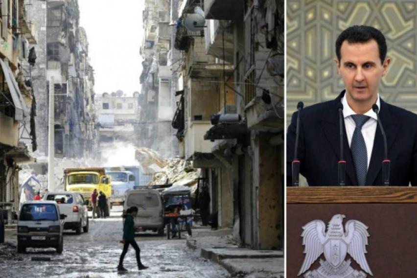 Осум години од почетокот на војната во Сирија: 360 илјади мртви, 13 милиони раселени, 400 милијарди долари штета, но Асад ја сочува власта