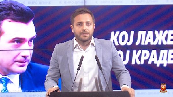 (видео) АРСОВСКИ: Лажна е метлата на Заев и СДСМ, не метат ниту во партијата, ниту во Владата