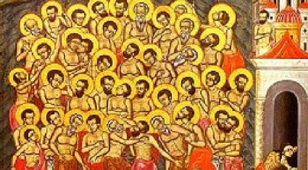 Денеска е Четириесет Севастиски маченици – Младенци