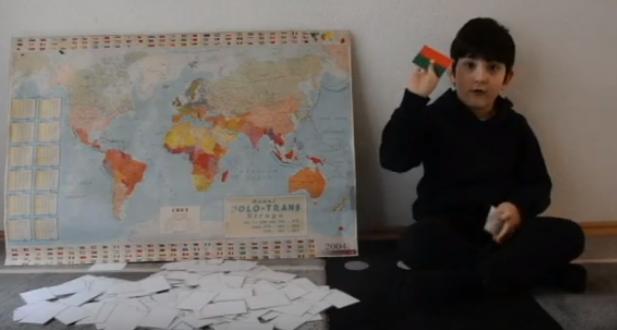 Петар Кукунеш има само пет години а ги знае сите држави во светот, покраини, нивните знамиња, главните градови
