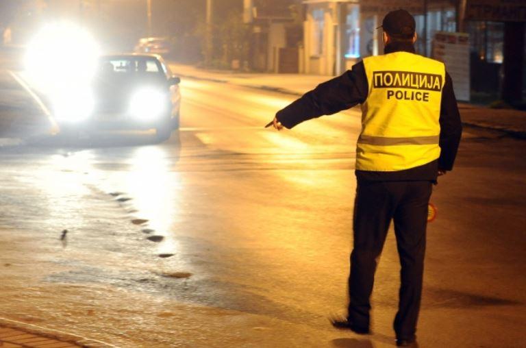 Стоп полиција: Казни за 200 напиени и пребрзи возачи низ Скопје