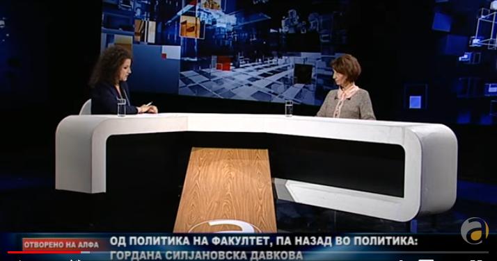 (ВИДЕО) СИЛЈАНОВСКА ВО ОТВОРЕНО СО КОРОВЕШОВСКА: Ако Пендаровски е небезбеден, ако и специјалната ја следат, што да кажат граѓаните