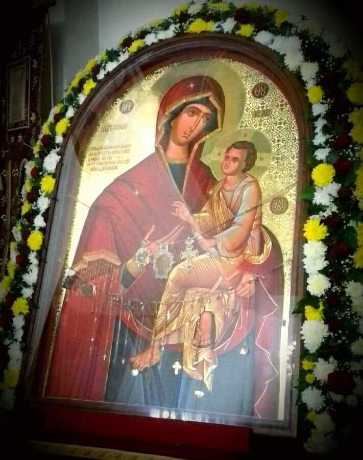 """Одбележување на двегодишнината од донесувањето на иконата на Пресвета Богородица """"Брзопослушничка"""" во Струмица"""