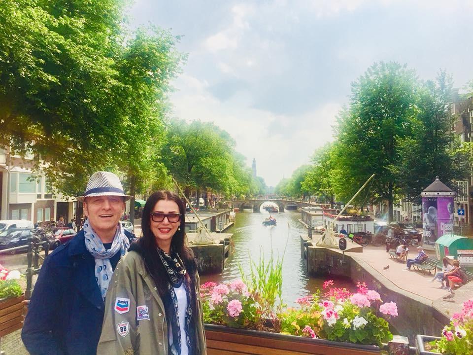 Надица Георгиева и Иво Јанкоски уживаат во заедничките патувања