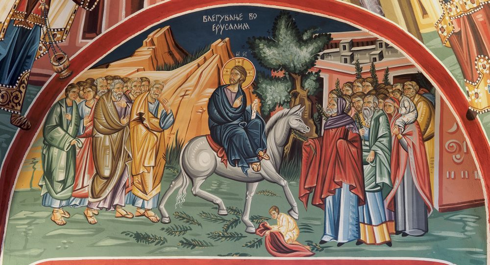 ОД КАЛЕНДАРОТ НА МПЦ: Денеска го славиме влегувањето на Господ Исус Христос во Ерусалим – Цветници