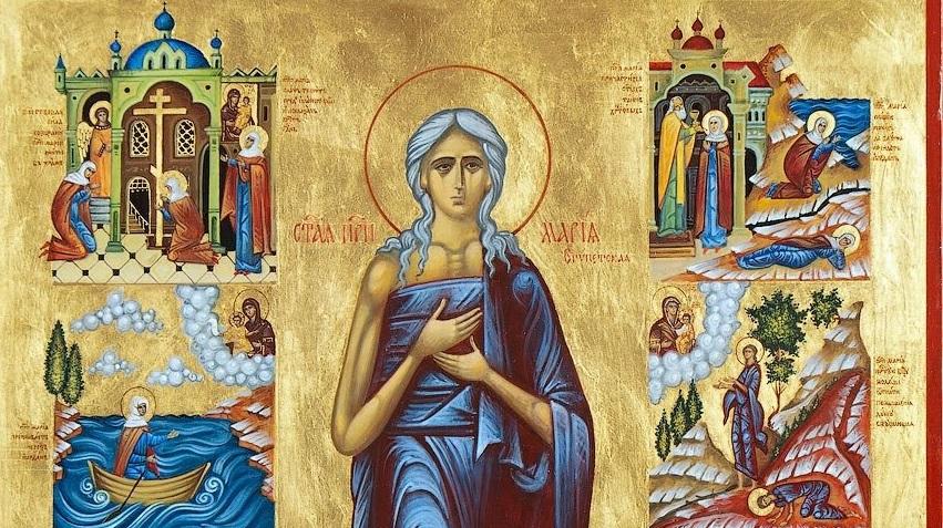 ОД КАЛЕНДАРОТ НА МПЦ: Денеска е Преподобна Марија Египетска