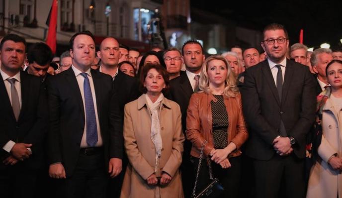 МИЦКОСКИ: Ќе ги победиме прво на претседателските, а потоа на предвремените парламентарни