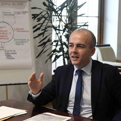 Тевдовски: ЕБОР ќе даде пари за автопати Скопје – Блаце и Кичево – Букојчани