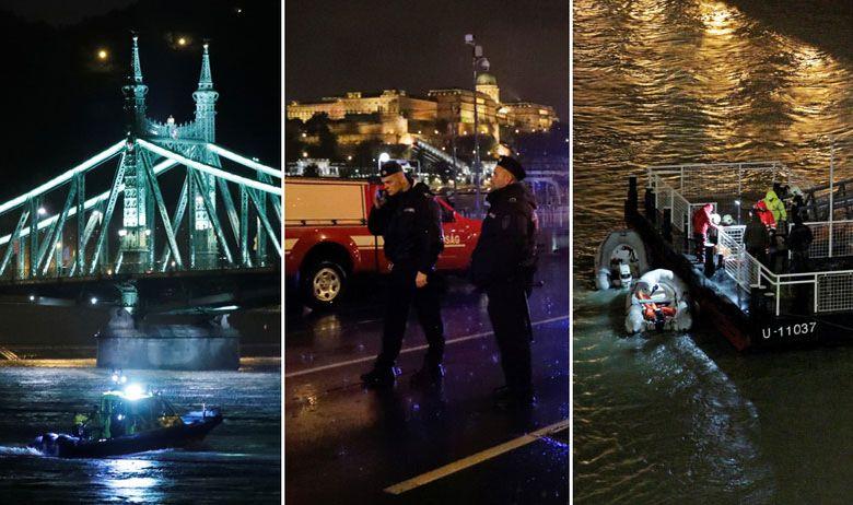 БРОДСКА НЕСРЕЌА: Унгарски нуркачи во Дунав ќе ги бараат исчезнатите 19 јужнокорејски туристи