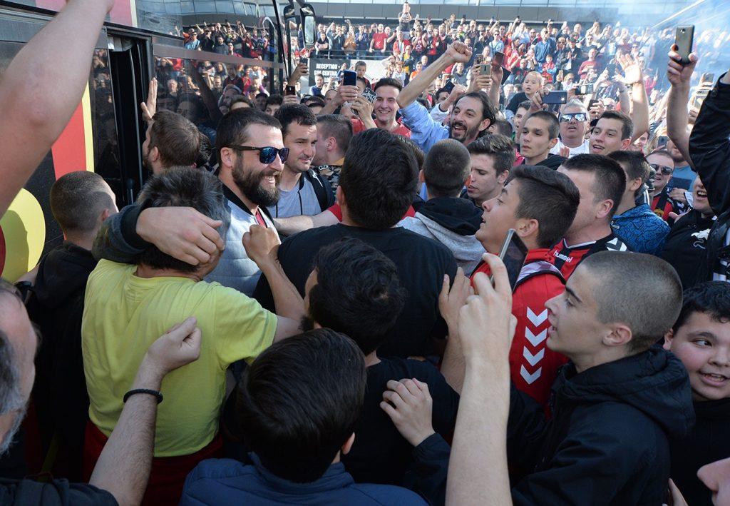 Шампионите на плоштад: Вие сте народ со најголемо срце, да живее Вардар, да живее Македонија!