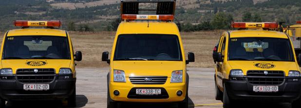 АМСМ: Променет режим на сообраќај на автопатот Скопје – Тетово кај Глумово