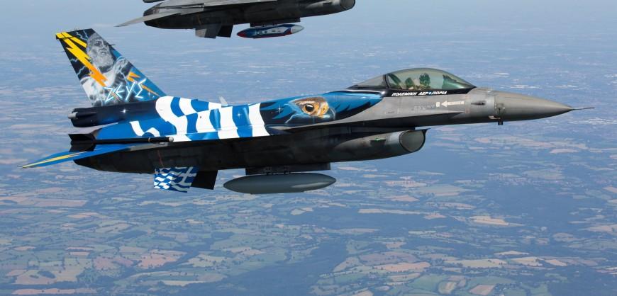ВОЕНА МИСИЈА: Грчки авиони Ф-16 ја завршија пробата за одбрана на небото над Македонија