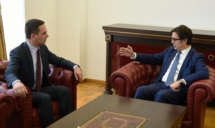Пендаровски со Касами: И власта и опозицијата да се посветат на ЕУ и НАТО