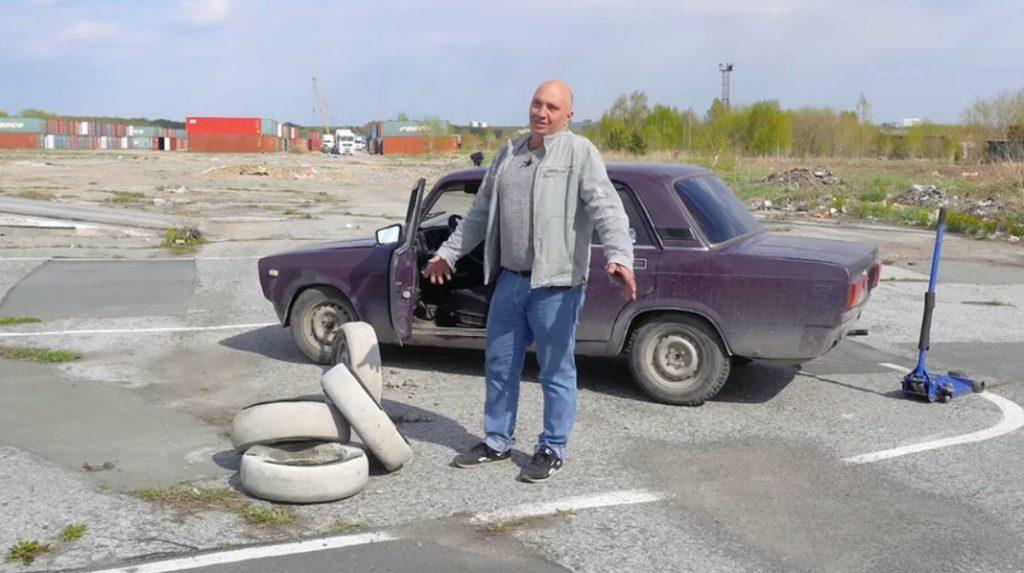 """Зошто Русите прават бетонски гуми за старите """"лади""""? (ВИДЕО)"""