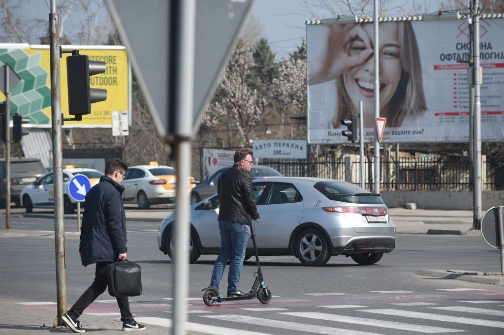 Град Скопје: Од денеска субвенционирани електрични тротинети и велосипеди