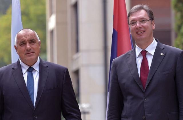 """Вучиќ и Борисов разговараа за изградба на гасовод """"Балкански поток"""""""