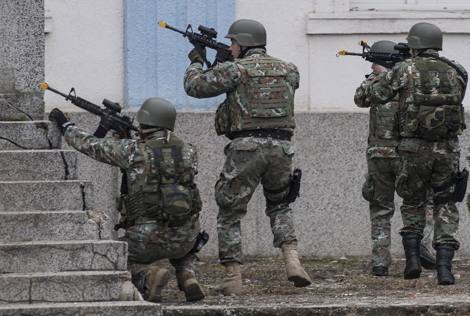 """Воена вежба: 30 специјалци на АРМ на """"Брз одговор"""" во Хрватска"""
