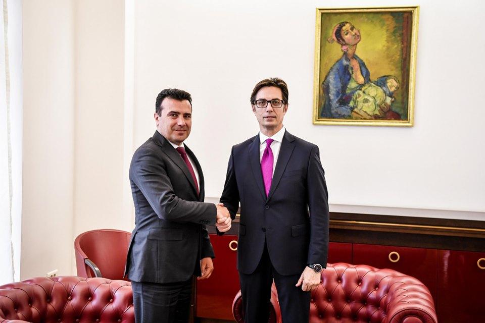 ЗАЕВ: Остварив средба со Пендаровски