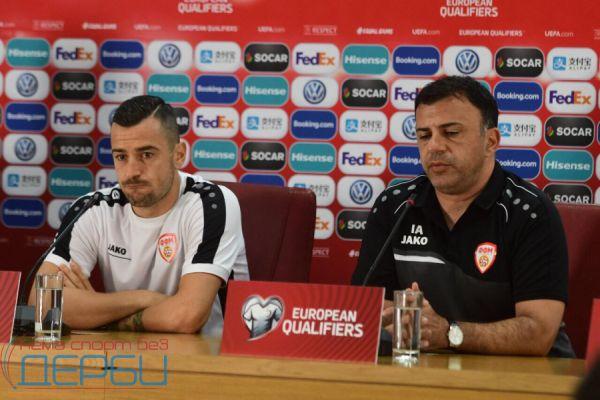 Ангеловски: И против Австрија нема да отстапам од нашиот стил на игра