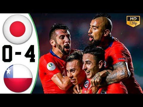 Копа Америка: Чиле ја прегази Јапонија со 4:0
