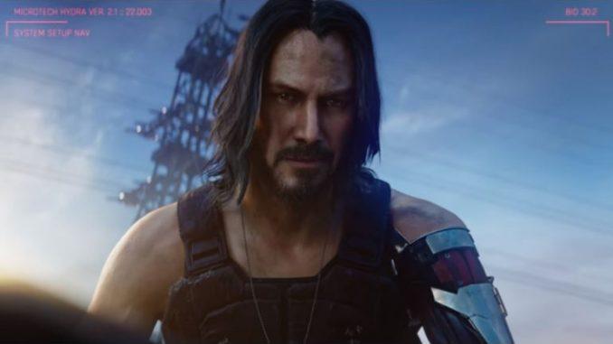 (видео) Кијану Ривс во антологиската игра Сајберпанк 2077