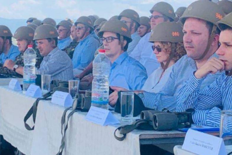 Одлучен удар во Битола: Демонстрација на боречки вештини пред битолчани и пред врховниот командант Пендаровски