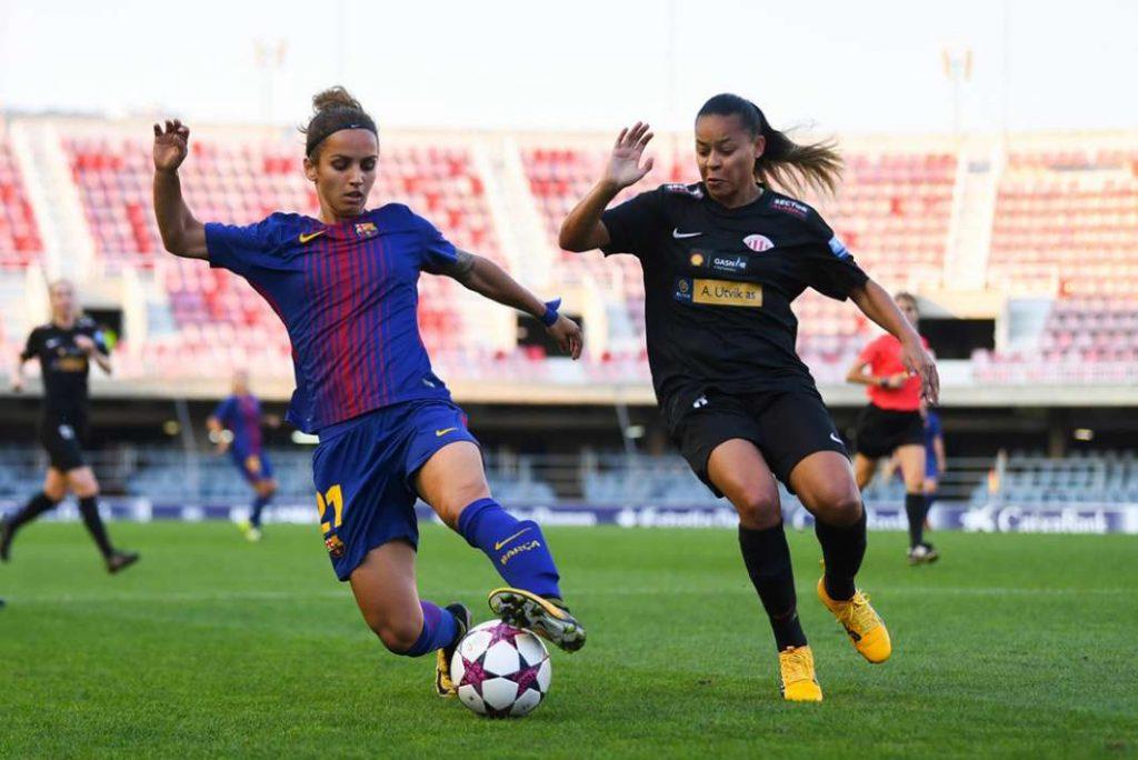 Најдобрата македонска фудбалерка Наташа Андонова се сели од Барселона во Мадрид