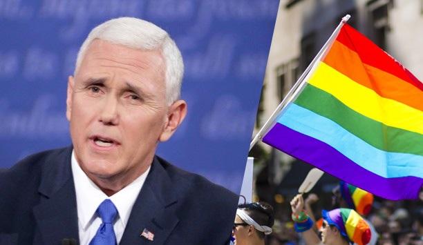Пенс во одбрана на одлуката на Трамп да ги забрани геј знамињата на амбасадите на САД