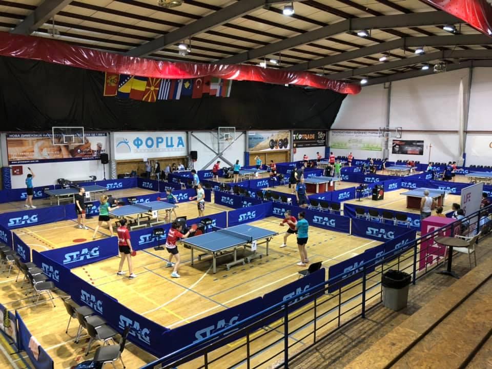 Скопје: Отворено Балканското првенство во пинг понг за млади