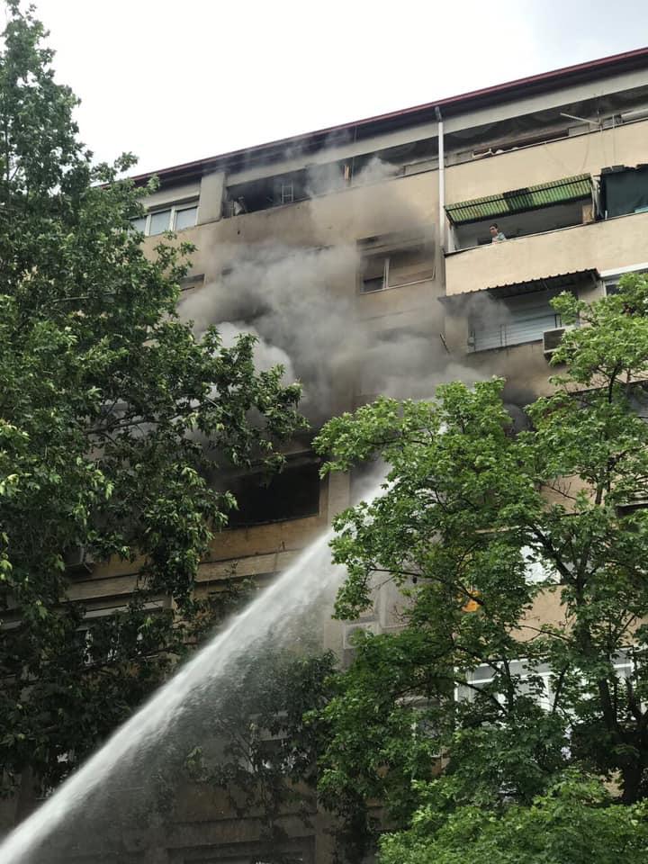 Девет лица се хоспитализирани на Tоксикологија по пожарот во Кисела Вода